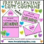 Free Valentines Day Love Coupons